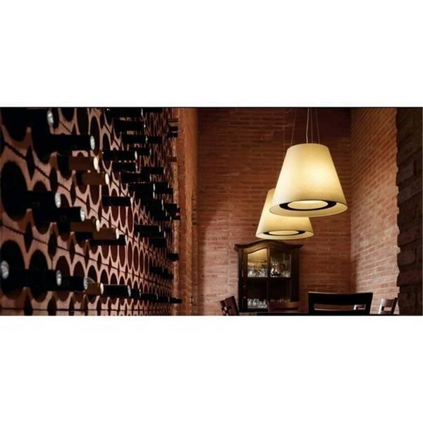 Muebles De Baño Faro:Lámpara plafón de baño diseño Logos-1 color gris – Faro 62980